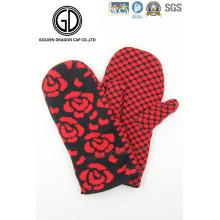 Chaussure tricotée à la fleur Rose