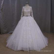 AK046 vestidos de lujo de la boda, vestido de boda ruso