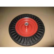 usar de 16 pulgadas rueda maciza para carretilla
