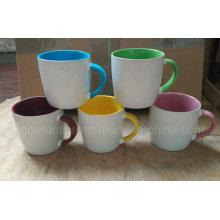 Tasses en céramique de 13oz, tasse de café de 3 tons