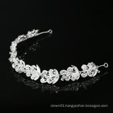 New Design Bridal Leaf women  bridal hair accessories crystal rhinestone