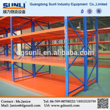 Easy Assembling Adjustable Warehouse Metal Boltless Shelving