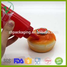Dropper Sealing LDPE squeeze empty round 150ml plastic bottle sauce