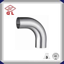 304 / 316L Санитарный изгиб нержавеющей стали 90 градусов Сварное колено