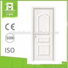 Ivory white interior door Korean flat stitching strengthen doors