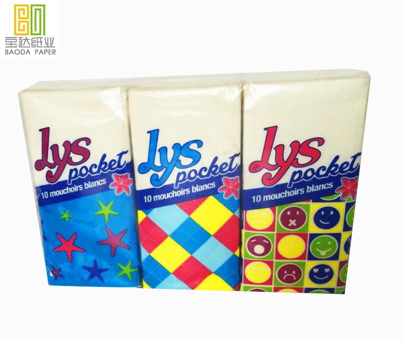 pocket tissue