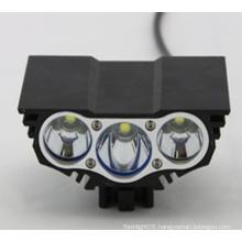 3X Xm-L T6 LED 3t6 4 Modes Headlamp