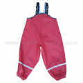 Pantalones sólidos PU para niños / bebé