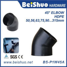 45 Degree HDPE Pipe Fitting Elbow with Single Socket