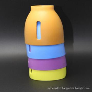 Le meilleur douille personnalisée personnalisée de tasse de café de silicone de la coutume