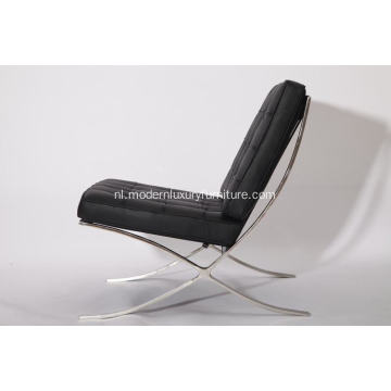Barcelona Leather Lounge Chair replica