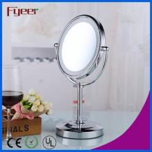 Fyeer Makeup Mirror Bathroom DC Power LED Mesa Espelho