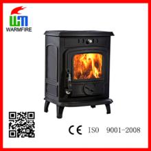 CE clássico WM701A, fogão de carvão ardente de madeira autônomo