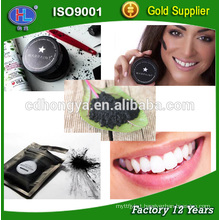100% Natural Activated coco charcoal powder for teeth whitening