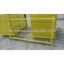 Barrières de contrôle de foule galvanisées par taille adaptées aux besoins du client en métal / barricade