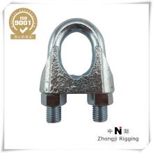 Din 741 attaches malléables clips de câble métallique fabriqués en Chine