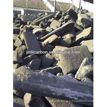 bloc de carbone / déchets d'anode en carbone / bloc d'anode en carbone pour la fusion du cuivre