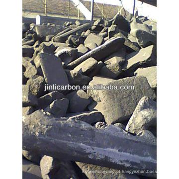 bloco de carbono / sucata de ânodo de carbono / bloco de ânodo de carbono para fundição de cobre