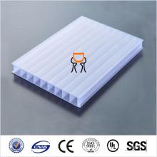 Blocage UV PC Fiche creuse PC Solid Polycarbonate Sheet Price