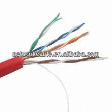 Teste de Fluke de alta velocidade Cat5E UTP Network Cable (0.51mm)