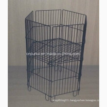 Foldable 6 Sides Wire Dump Bin (PHY343)