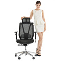 high end chair office furniture swivel ergonomic REVOLVING mesh desk boss executive computer chair