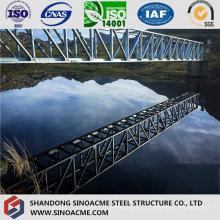 Ponte de fardo da tubulação de aço da estrutura da luz