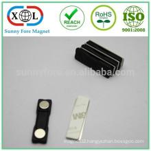 45x13mm plastic badge magnet