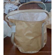 100% PP FIBC Bulk Bag with Top Duffle