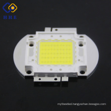 China supplier LED 50W white high power light cob led chip with square holder