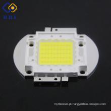A espiga clara do poder superior branco do diodo emissor de luz 50W do fornecedor de China conduziu a microplaqueta com suporte quadrado