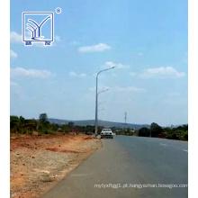 Projeto de luz de rua LED 10m na Zâmbia