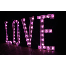Monocolor LED Pixel Large Letter Signs for Outdoor Display