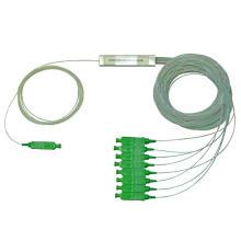 Divisor de fibra óptica 1x8 Sc / APC