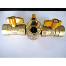 Messing Gas Kugelhähne gelb behandeln UL CSA 175 PSI