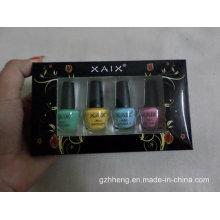 Impresión personalizada plegable caja de plástico transparente para cosméticos (caja de PVC)