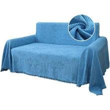 Geometrical Jacquard Cotton Sofa Towel Sofa Towel Tassels Sofa Cotton Towel Slipcovers Thick Woven Sofa Throw Cover