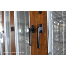 Итальянский дизайн Luxury Class Резиновые герметичные алюминиевые двери и окна