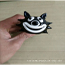 Best Gift Cute Cat Smoking Glass Pipes for Smoking (ES-HP-158)