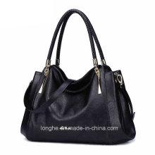 Newest Factory Sale Cheap Fashion PU Lady Handbag (ZX10156)