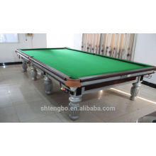 Factory price MDF snooker pool table with cue tips for adults