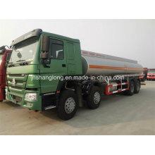China 8X4 caminhão-tanque de 30 cbm para gasolina (óleo / combustível / água / ácido clorídrico)