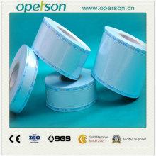 Desechable Medical Plain esterilización carrete bolsa