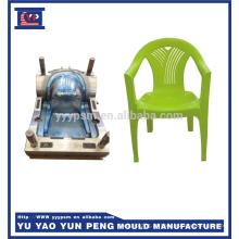 Casa do escritório plástico cadeira molde injeção rattan cadeira molde auto queda