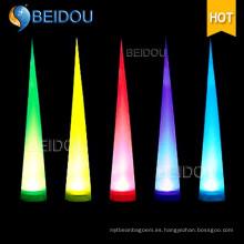 Arco Pilas Inflables Duchas de Marfil Tubos de Aire Conos Congelados LED