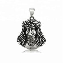 34215 xuping religião série projeto moda jóias de aço inoxidável jesus pingente