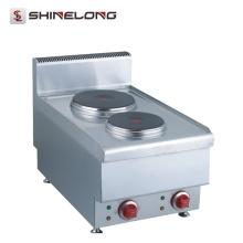 Shinelong alta calidad restaurante encimera Mini Cook 2 quemador estufa eléctrica