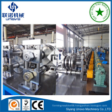 chinese manufacturer slotted hat channel rollform molding machine
