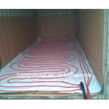 Cojín de flexitank en contenedores de 20 pies de calefacción