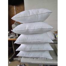 Heißes Verkaufskissen weißes gefärbtes Polyester fabric110 gsm